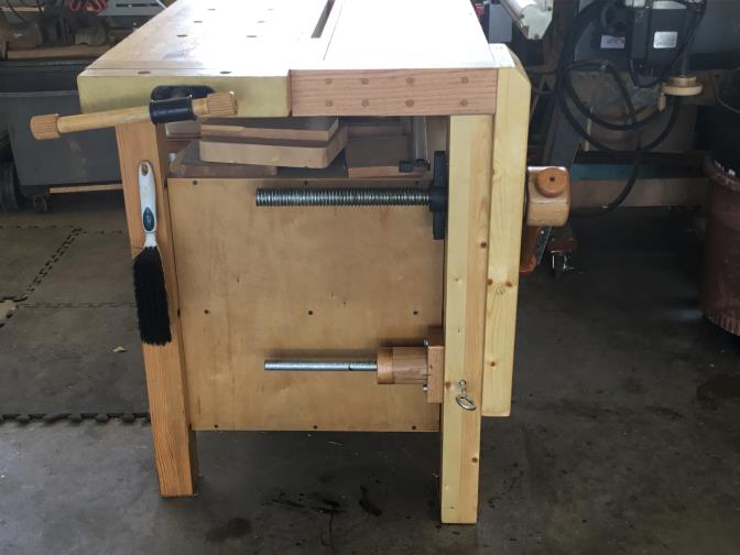 Workbench Leg Vise Baton Rouge Woodworking Club